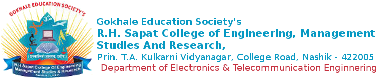R. H. Sapat College Of Engineering, Management Studies And Research   Electrical and Telecommunication